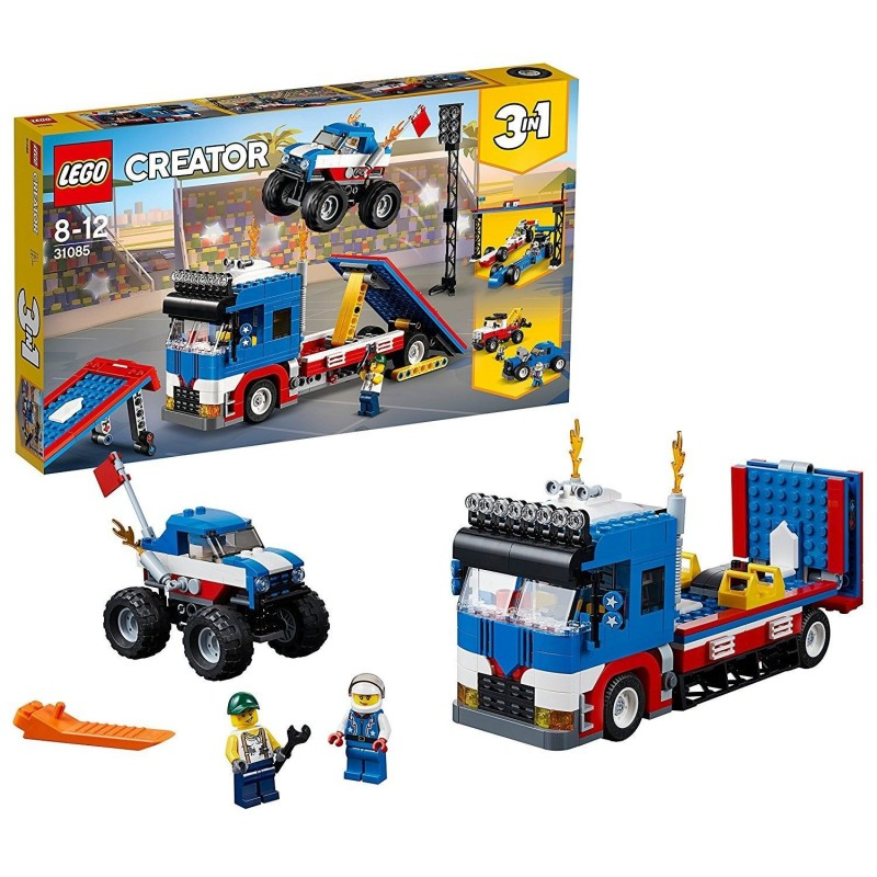 LEGO CREATOR TRUCK DELLO STUNTMAN Mobile Stunt Show 31085