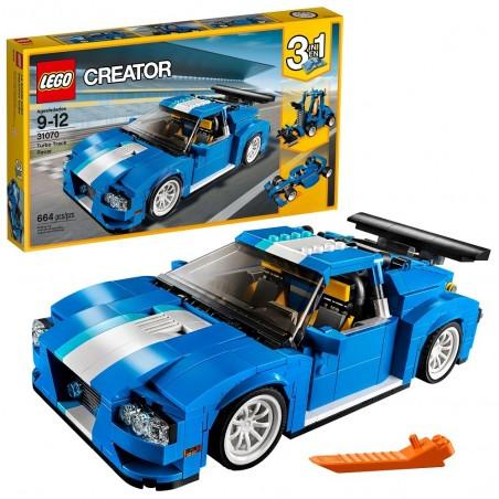 LEGO CREATOR AUTO DA CORSA Turbo Track Racer 31070