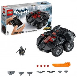LEGO DC SUPERHEROES BATMOBILE TELECOMANDATA App Controlled Batmobile 76112