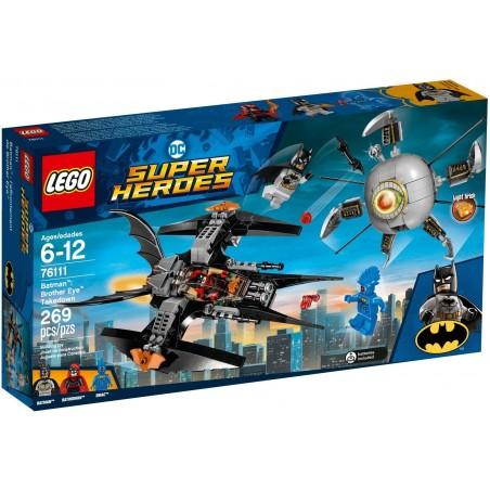 LEGO DC SUPERHEROES BATMAN SCONTRO CON BROTHER EYE 76111