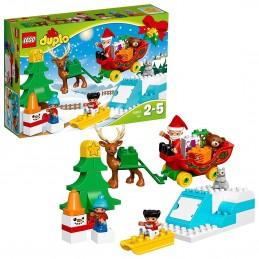 LEGO DUPLO AVVENTURE DI BABBO NATALE Santa's Winter Holiday 10837