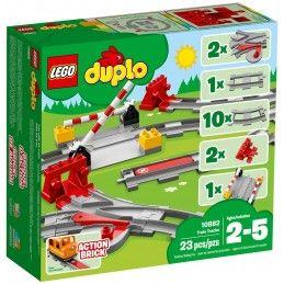 LEGO DUPLO BINARI FERROVIARI 10882