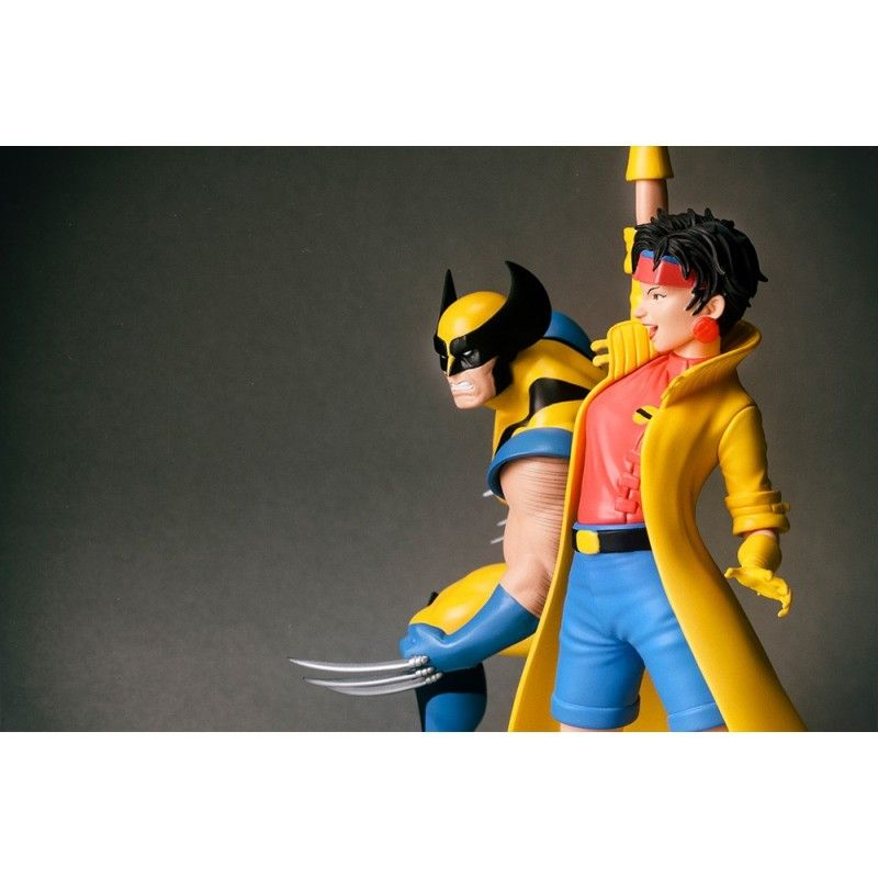 KOTOBUKIYA X-MEN 1992 SERIES WOLVERINE AND JUBILEE 2-PACK ARTFX+ STATUE FIGURE