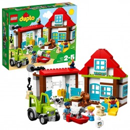 LEGO DUPLO VISITIAMO LA FATTORIA Farm Adventures 10869