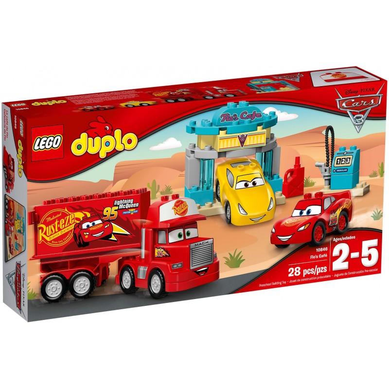 LEGO DUPLO CARS 3 CAFE\' DI FLO Flo\'s Cafe 10846