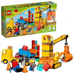LEGO DUPLO GRANDE CANTIERE Big Construction Site 10813