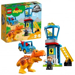 LEGO DUPLO JURASSIC WORLD LA TORRE DEL T-REX Tower 10880