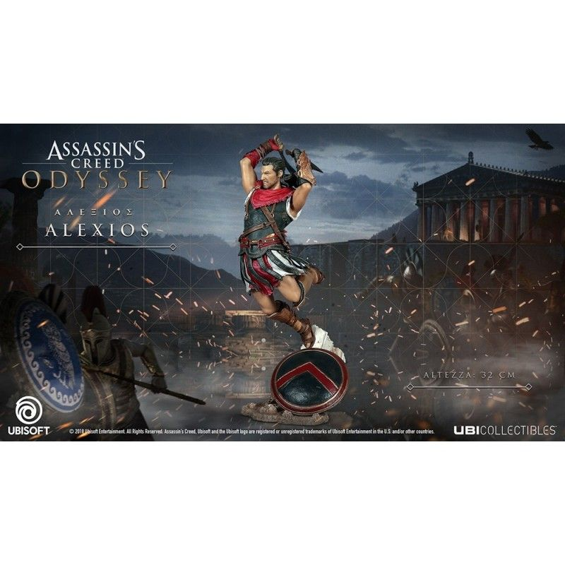 ASSASSIN'S CREED ODYSSEY - ALEXIOS STATUE 32 CM FIGURE