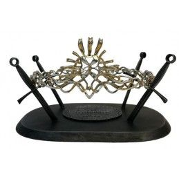 GAME OF THRONES CROWN OF CERSEI PROP METAL REPLICA IN METALLO CORONA