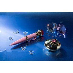 SAILOR MOON - TRANSFORMATION BROOCH AND DISGUISE PEN SET PROPLICA REPLICA