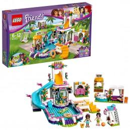 LEGO FRIENDS PISCINA ALL'APERTO DI HEARTLAKE Summer Pool 41313