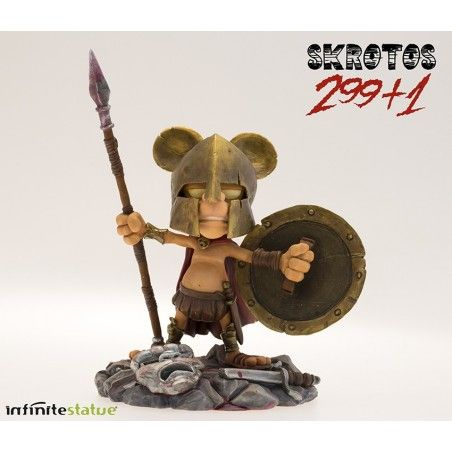 RAT-MAN 299+1 SKROTOS COLLECTION N.5 STATUE LEO ORTOLANI