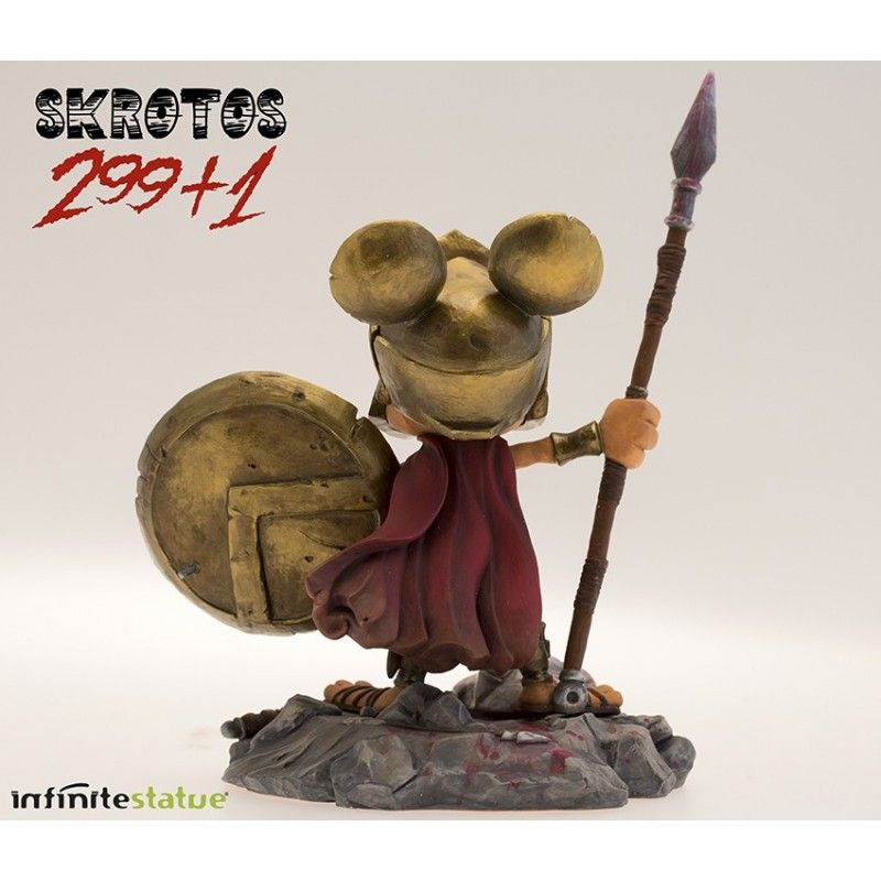 RAT-MAN 299+1 SKROTOS COLLECTION N.5 STATUE LEO ORTOLANI INFINITE STATUE