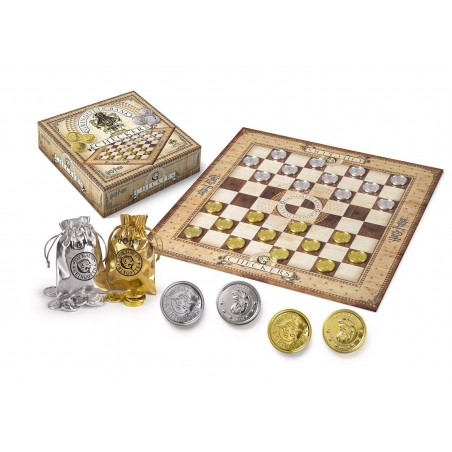 HARRY POTTER DAMA GRINGOTTS CHECKER SET