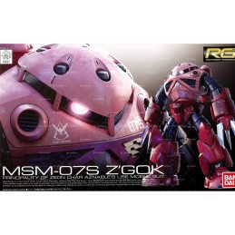 REAL GRADE RG MSM-07S Z'GOK GUNDAM 1/144 MODEL KIT FIGURE BANDAI