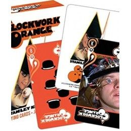 A CLOCKWORK ORANGE PLAYING CARDS MAZZO CARTE DA GIOCO