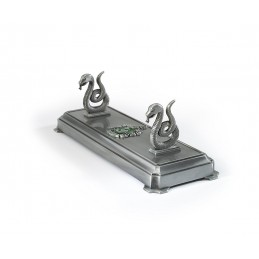 HARRY POTTER - SLYTHERIN SERPEVERDE WAND STAND PER BACCHETTA NOBLE COLLECTION