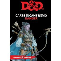 DUNGEONS AND DRAGONS 5 EDIZIONE CARTE INCANTESIMO RANGER ITALIANO ASMODEE