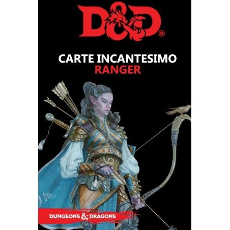DUNGEONS AND DRAGONS 5 EDIZIONE CARTE INCANTESIMO RANGER ITALIANO