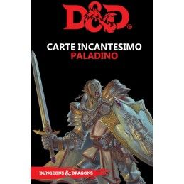 DUNGEONS AND DRAGONS 5 EDIZIONE CARTE INCANTESIMO PALADINO ITALIANO ASMODEE