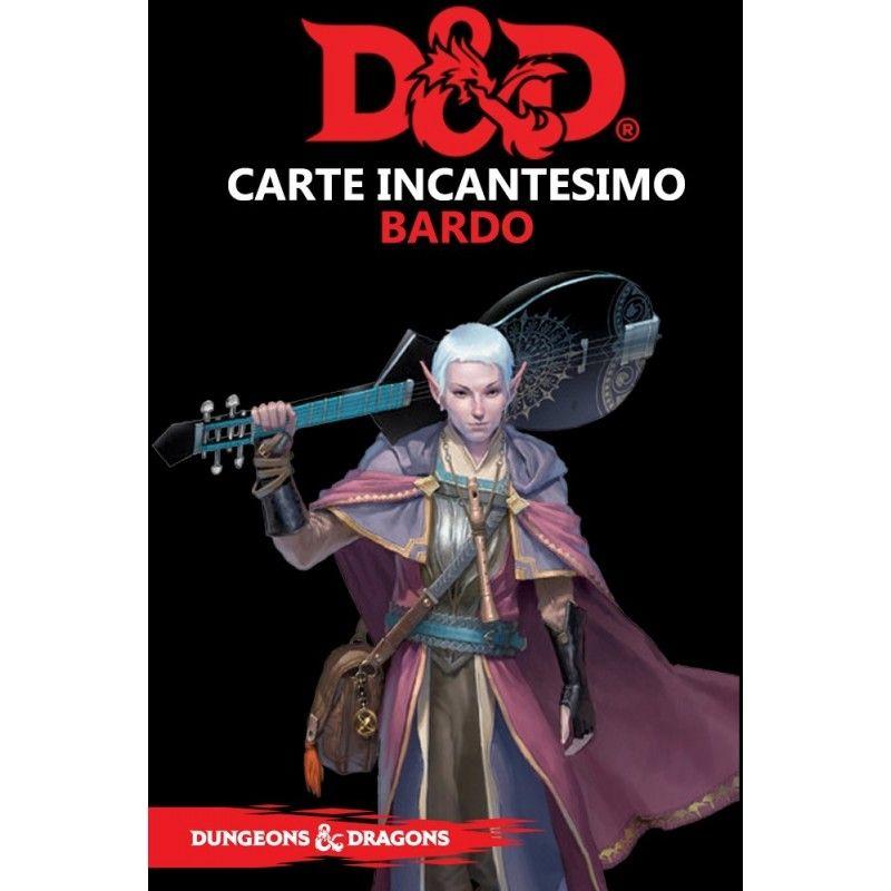 DUNGEONS AND DRAGONS 5 EDIZIONE CARTE INCANTESIMO BARDO ITALIANO