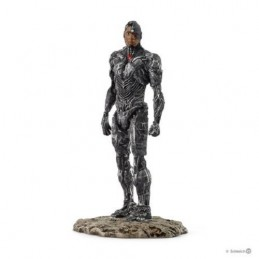 DC COMICS JUSTICE LEAGUE MOVIE CYBORG PVC STATUE FIGURE DIORAMA
