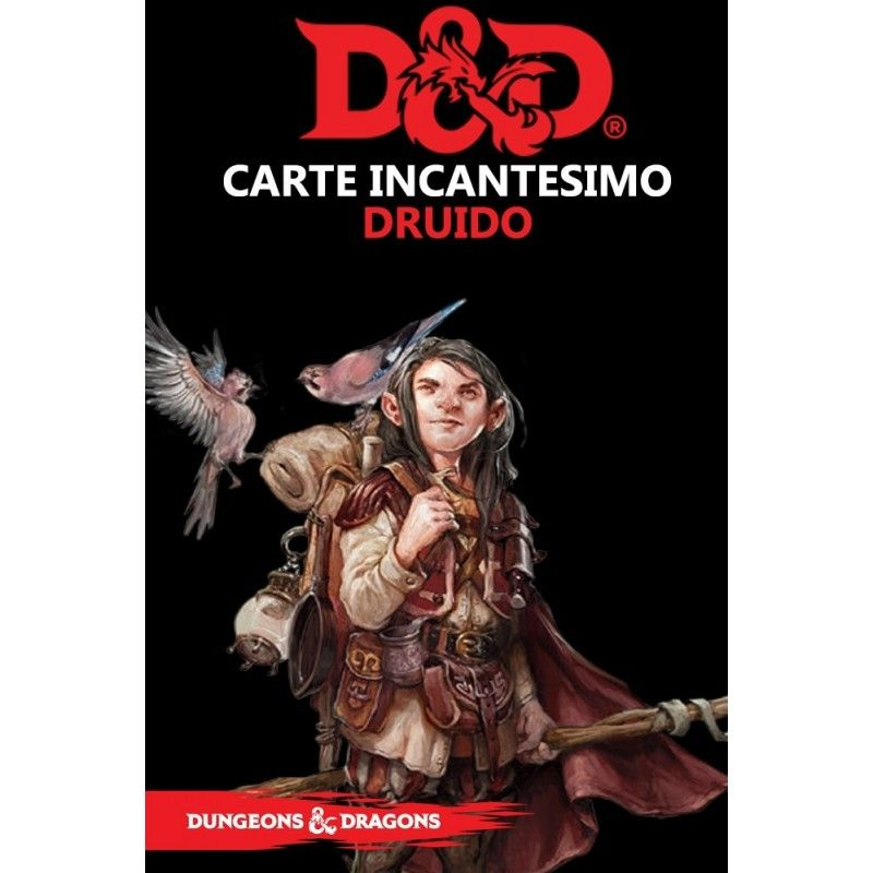 DUNGEONS AND DRAGONS 5 EDIZIONE CARTE INCANTESIMO DRUIDO ITALIANO ASMODEE