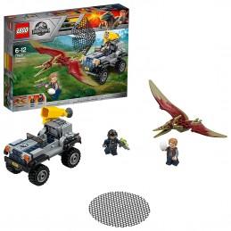LEGO JURASSIC WORLD INSEGUIMENTO PTERANODONTE Pteranodon Chase 75926