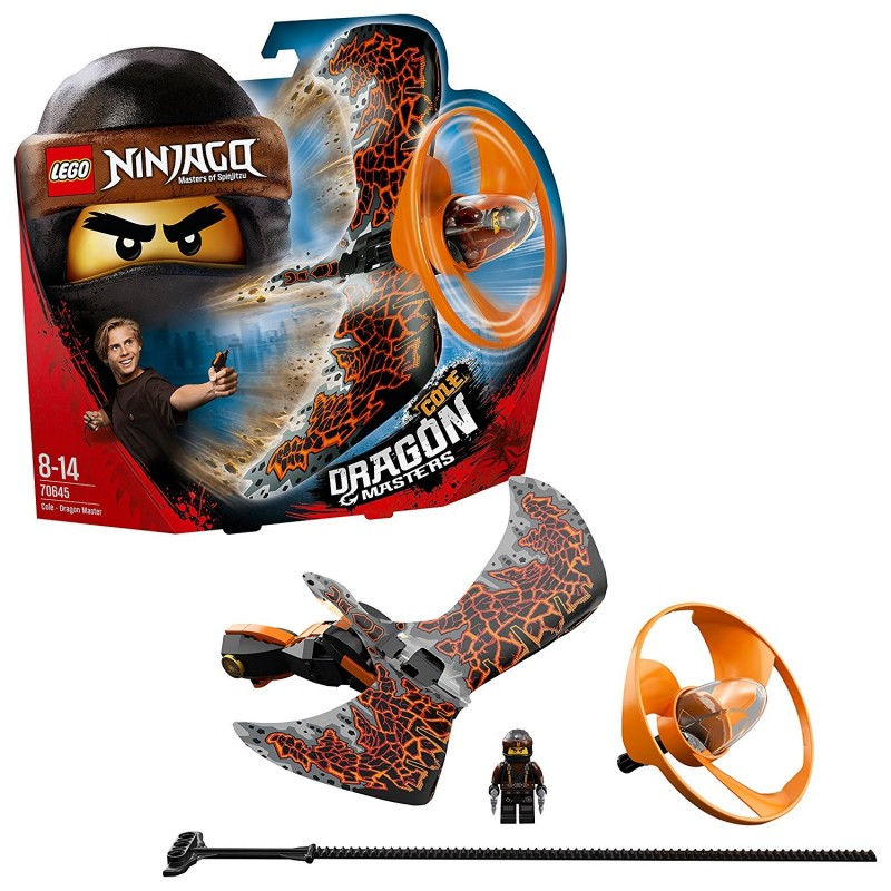 LEGO NINJAGO COLE MAESTRO DRAGONE Dragon Master 70645