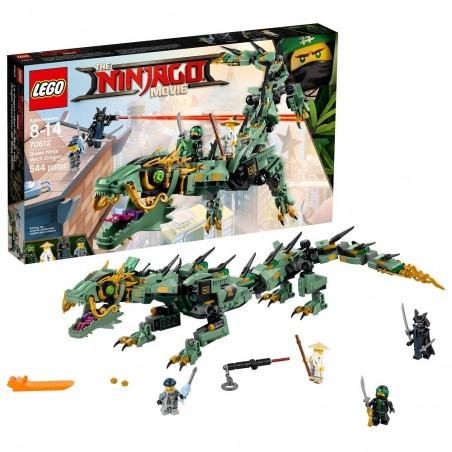 LEGO NINJAGO DRAGO MECH NINJA VERDE Green Ninja Mech Dragon 70612
