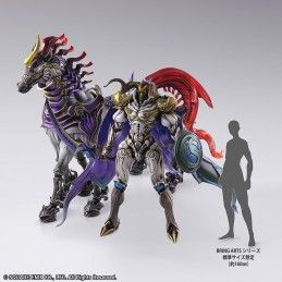 FINAL FANTASY CREATURES - ODIN BRING ARTS ACTION FIGURE