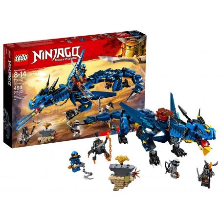 LEGO NINJAGO DRAGONE DELLA TEMPESTA Stormbringer 70652