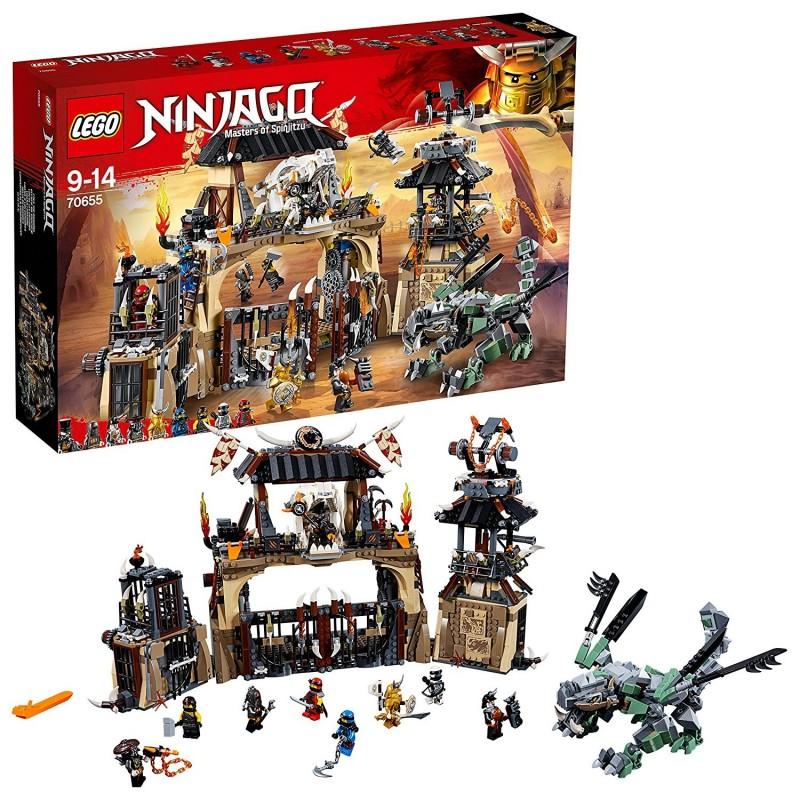 LEGO NINJAGO LA FOSSA DEL DRAGONE Dragon Pit 70655