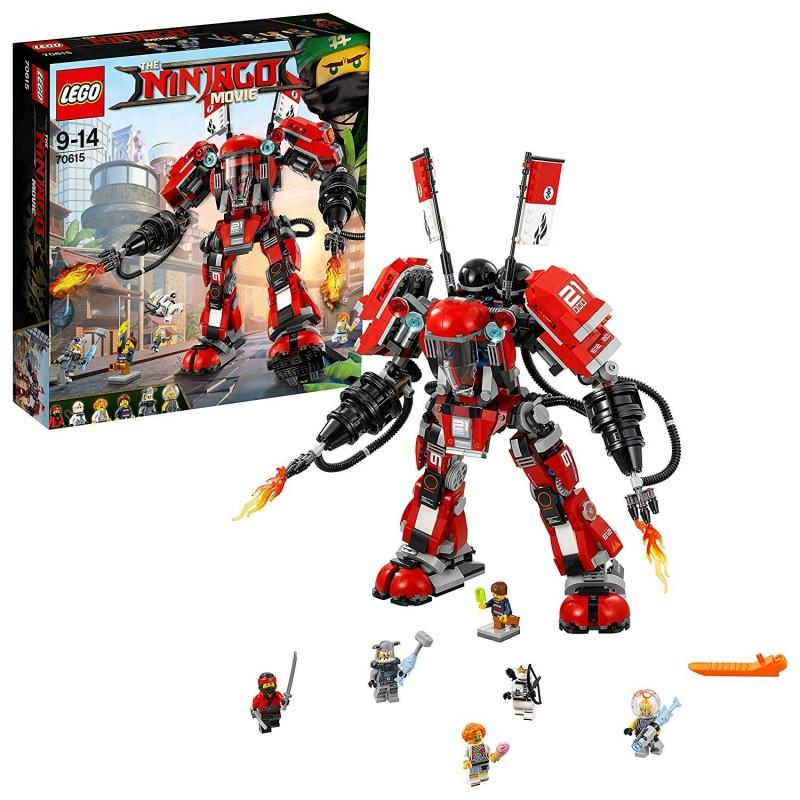 LEGO NINJAGO MECH DI FUOCO Fire Mech 70615