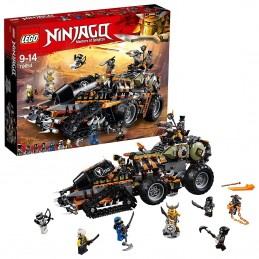 LEGO NINJAGO TURBO-CINGOLATO Dieselnaut 70654