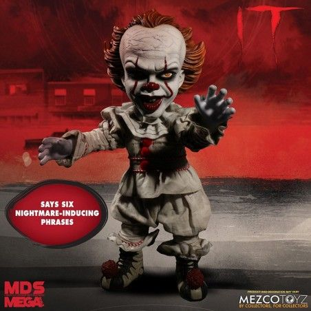 IT 2017 MEGA SCALE TALKING PENNYWISE 40 CM ACTION FIGURE