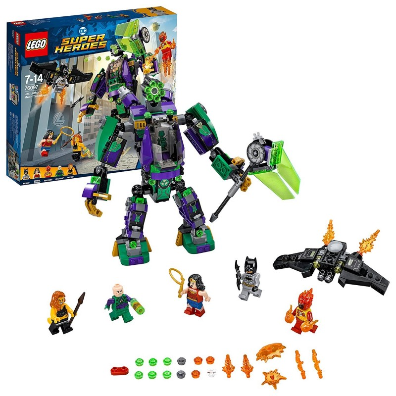 LEGO SH SUPER HEROES DUELLO CON LEX LUTHOR Mech Takedown 76097
