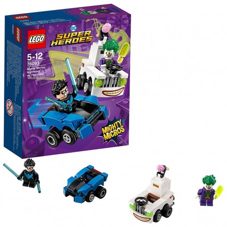LEGO SH SUPER HEROES NIGHTWING VS THE JOKER 76093