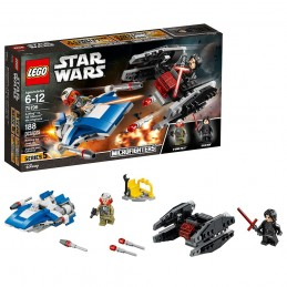 LEGO STAR WARS DUALPACK A-WING VS TIE SILENCER 75196