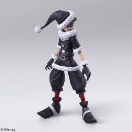 KINGDOM HEARTS II 2 SORA CHRISTMAS TOWN VER BRING ARTS ACTION FIGURE