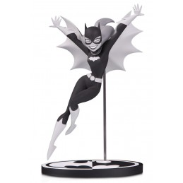 BATMAN BLACK & WHITE - BATGIRL BY BRUCE TIMM 18CM STATUE FIGURE