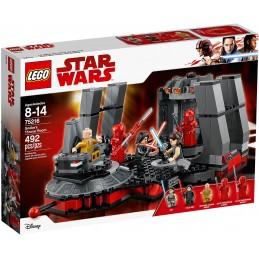 LEGO STAR WARS SALA DEL TRONO DI SNOKE Throne Room 75216