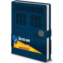 DOCTOR WHO TARDIS PREMIUM NOTEBOOK DIARIO