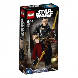 LEGO STAR WARS CHIRRUT IMVE BUILDABLE ACTION FIGURE 75524
