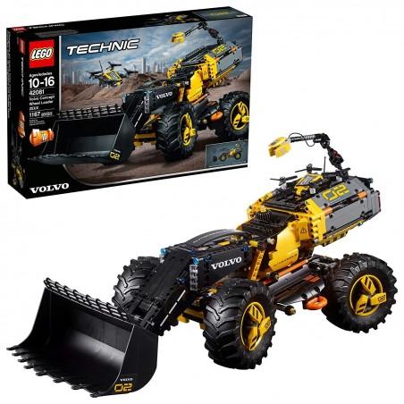 LEGO TECHNIC VOLVO RUSPA GOMMATA ZEUX Concept Wheel Loader Zeux 42081