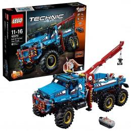 LEGO TECHNIC CAMION AUTOGRU 6X6 ALL TERRAIN TOW TRUCK 42070