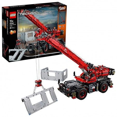 LEGO TECHNIC GRANDE GRU MOBILE Rough Terrain Crane 42082