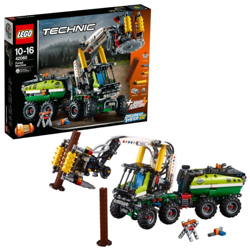 LEGO TECHNIC MACCHINA FORESTALE Forest Machine 42080