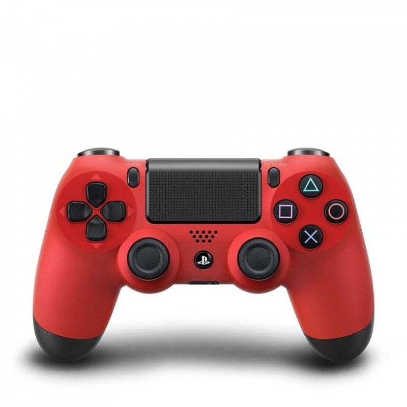 SONY CONTROLLER DUAL SHOCK 4 PS4 ROSSO NERO