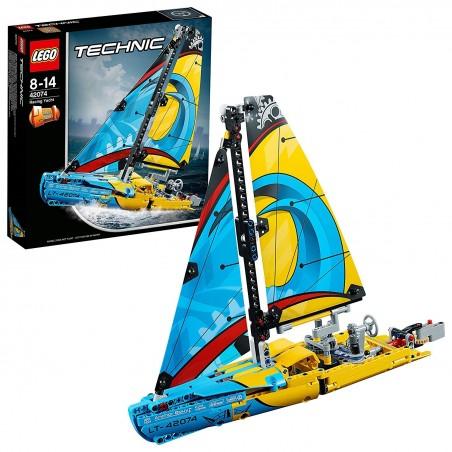 LEGO TECHNIC YACHT DA GARA Racing Yacht 42074